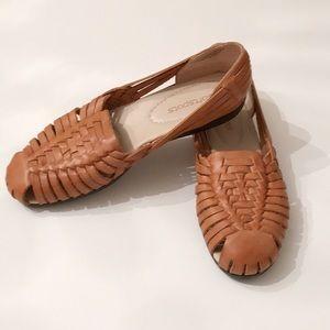 Women's Softspot Huarache Slip On Sandals Size 8 N
